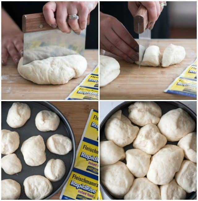 How to make buttery homemade rolls with Feischmann's RapidRise Yeast