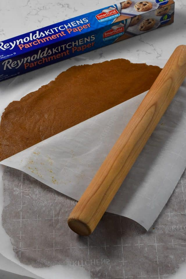 Use Reynolds Parchment Paper to make the easiest gingerbread cookies!