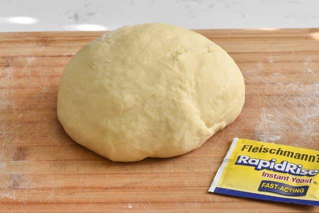 Homemade monkey bread dough