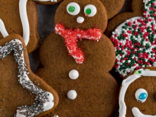 Gingerbread Cookies Soft Chewy Cutouts Crazy For Crust