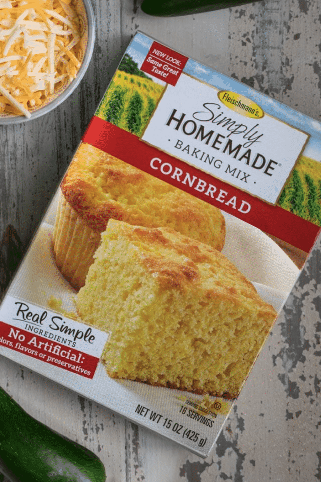 Fleischmann's Yeast Simply Homemade cornbread box