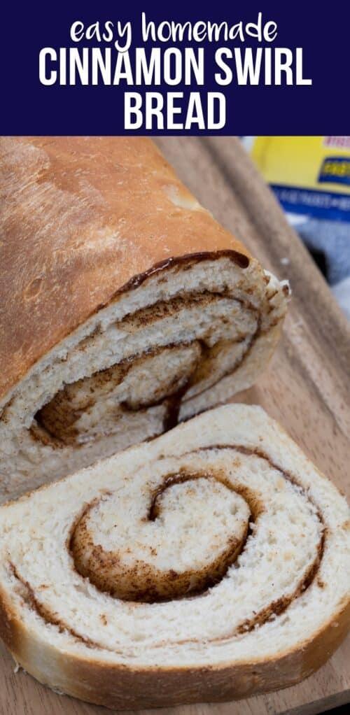 Homemade Cinnamon Bread - Crazy for Crust