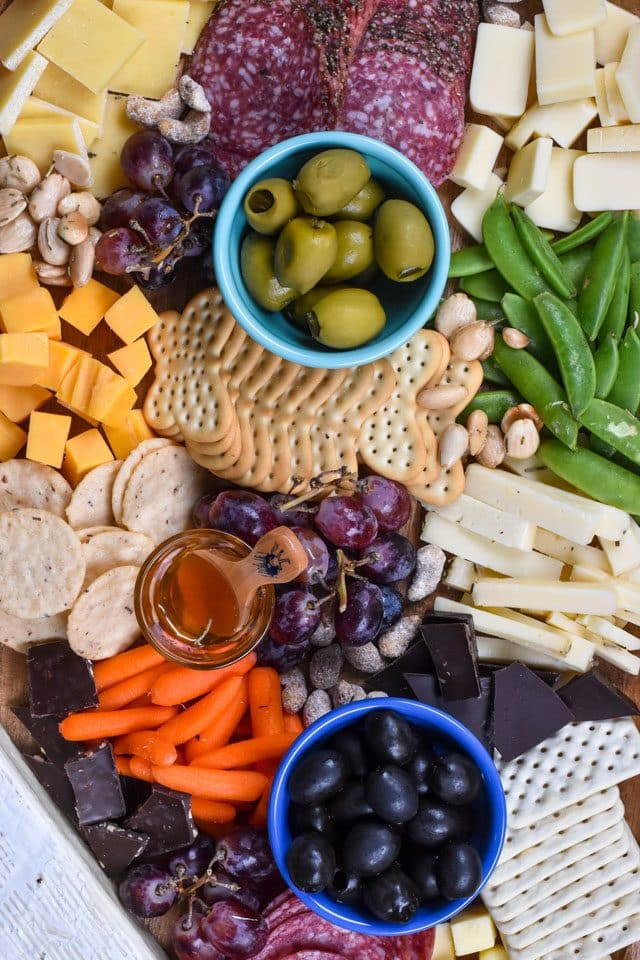 easy cheese board charcuterie tray