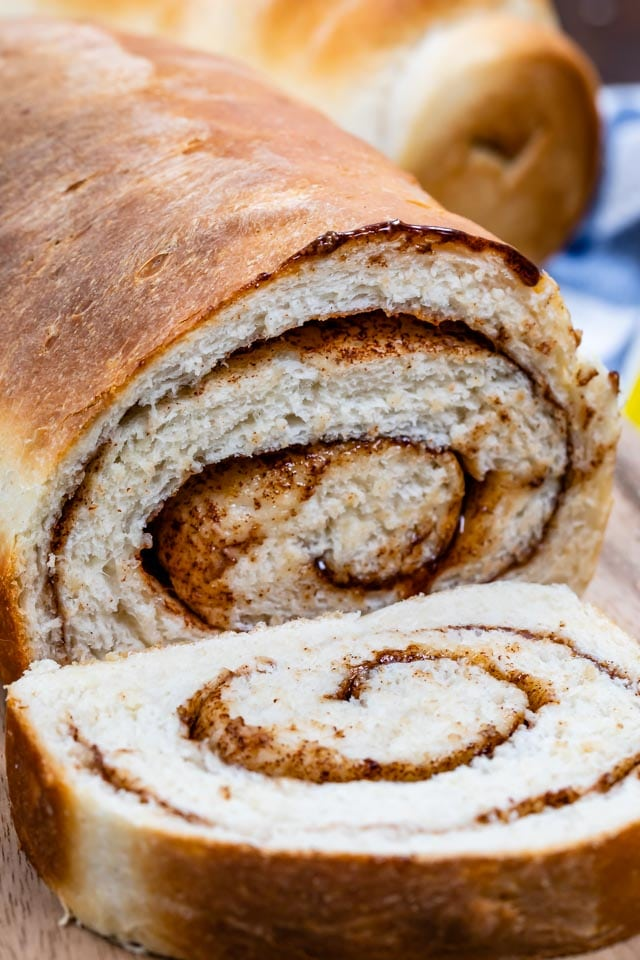 Homemade Cinnamon Bread Recipe Crazy For Crust