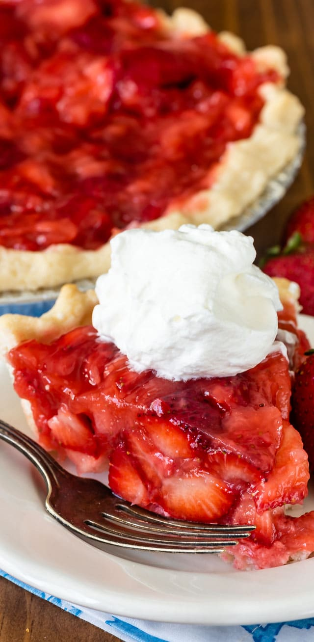 Fresh Strawberry Pie Recipe Crazy For Crust