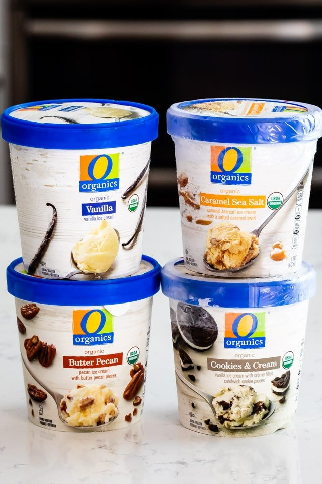 o organics ice cream