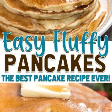 pancakes collage