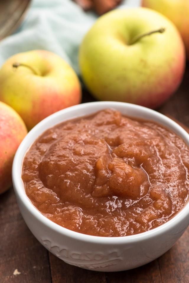 applesauce in bowl