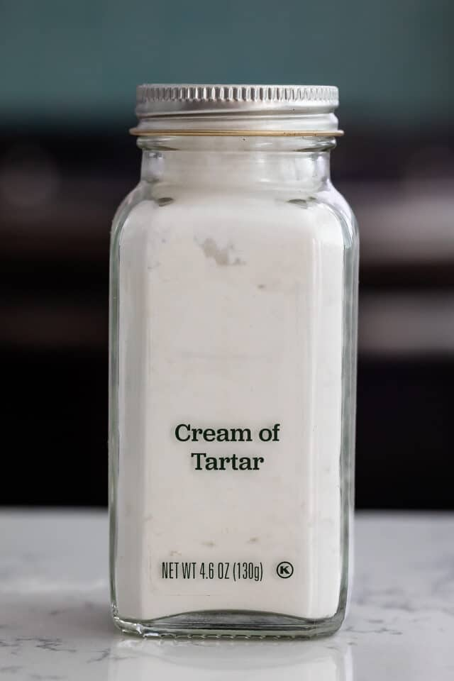 bottle of cream of tartar