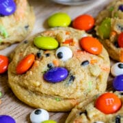 halloween cookies with sprinkles