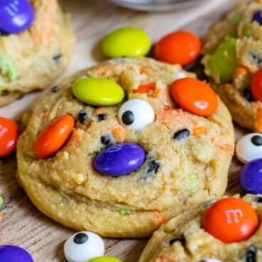 halloween cookies with sprinkles