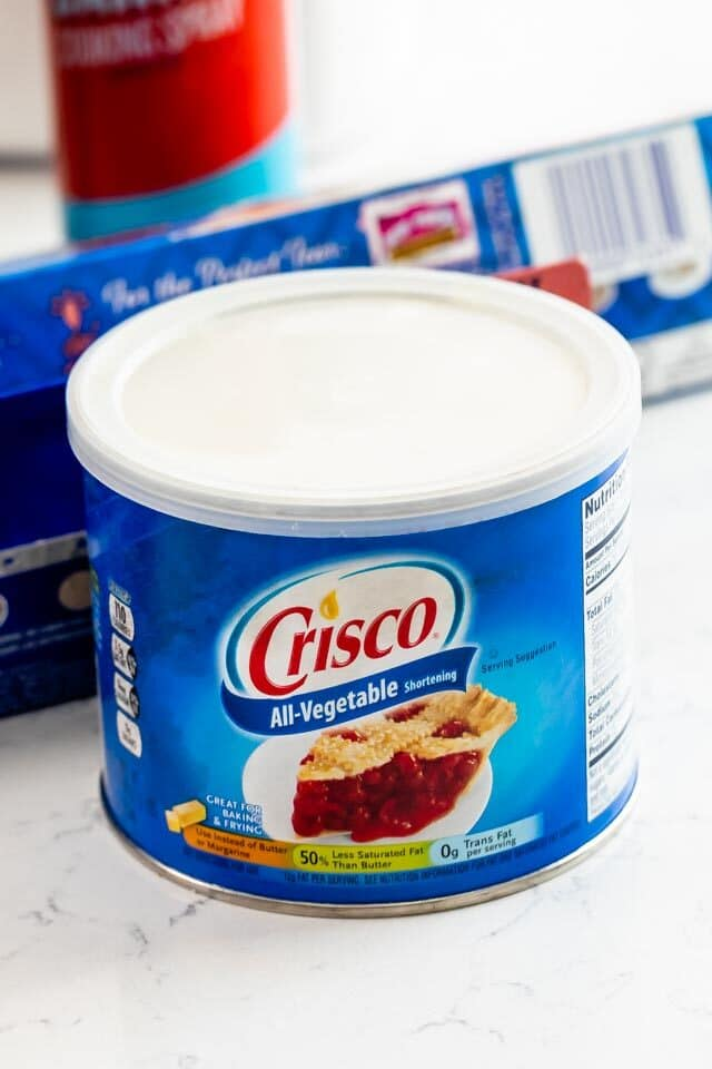 can of crisco