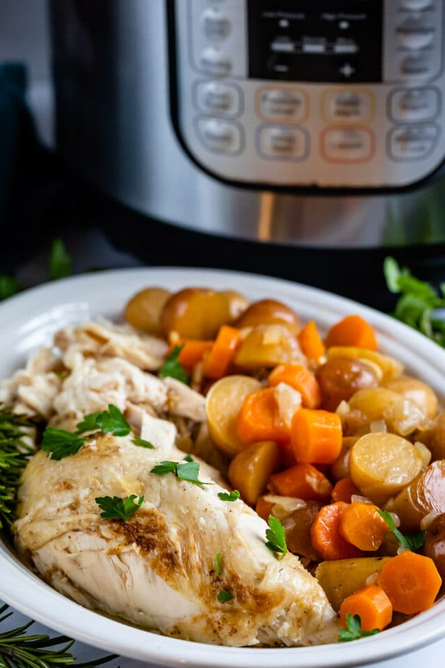 instant pot and chicken