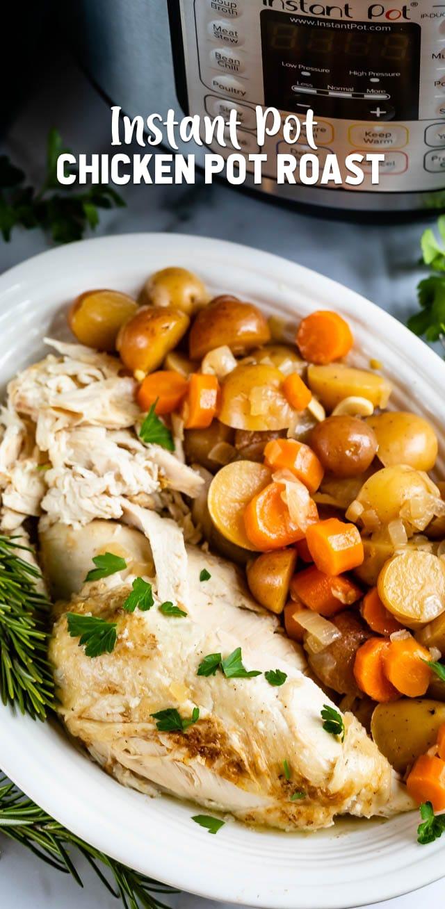 Instant Pot Chicken Pot Roast Crazy For Crust