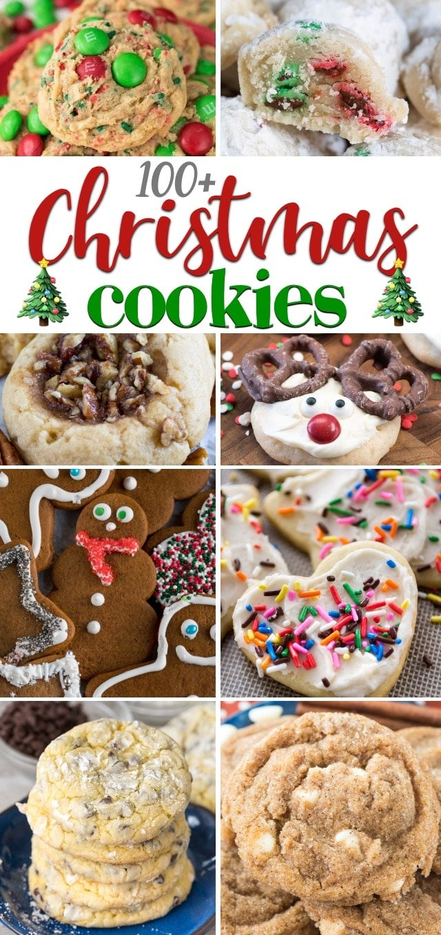 Christmas Cookies Recipes 2019.Over 100 Christmas Cookie Recipes To Serve This Holiday