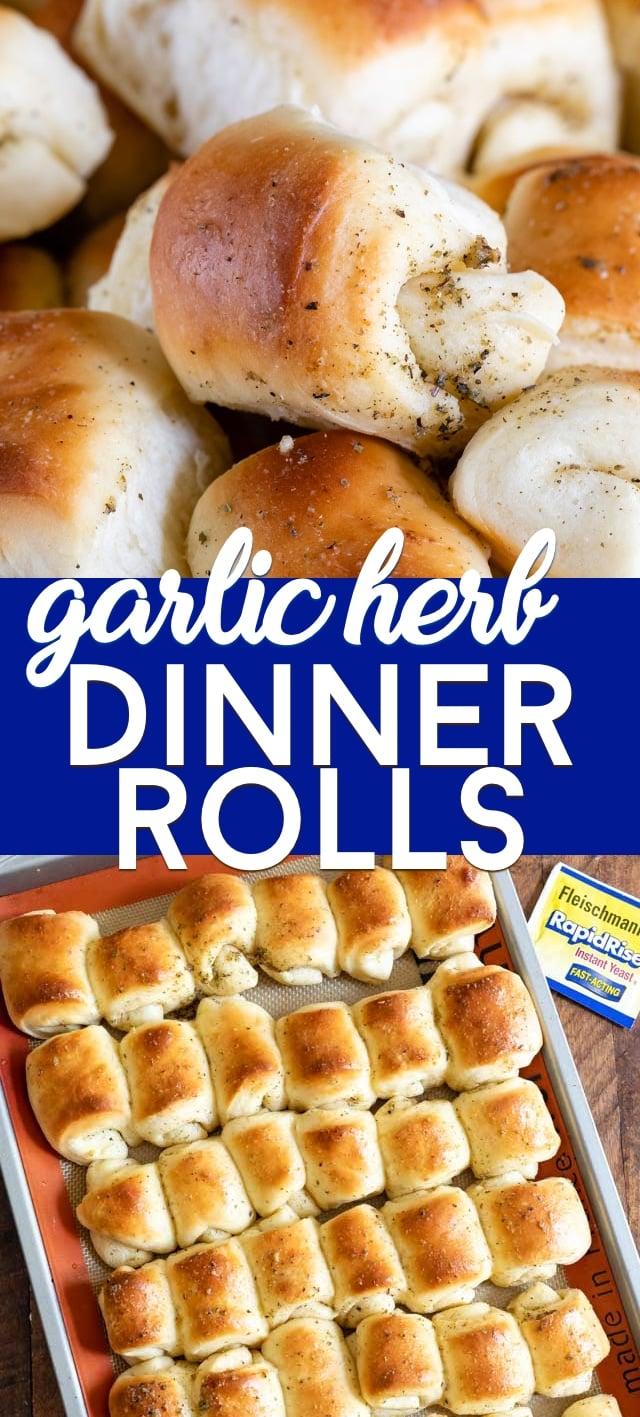 collage dinner rolls