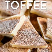 DIsney copycat churro toffee recipe