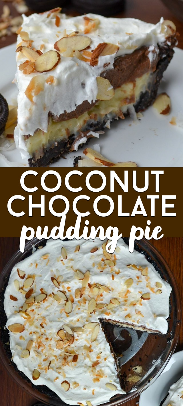 cocolate chocolate pudding pie