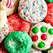 1 dough 4 ways drop cookies