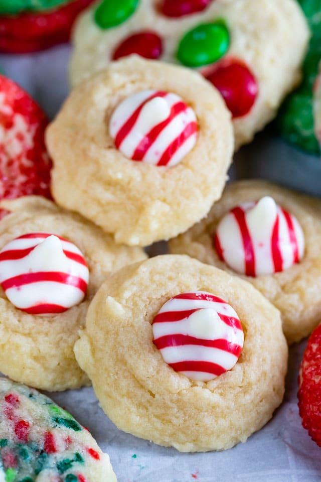 Blossom drop cookies