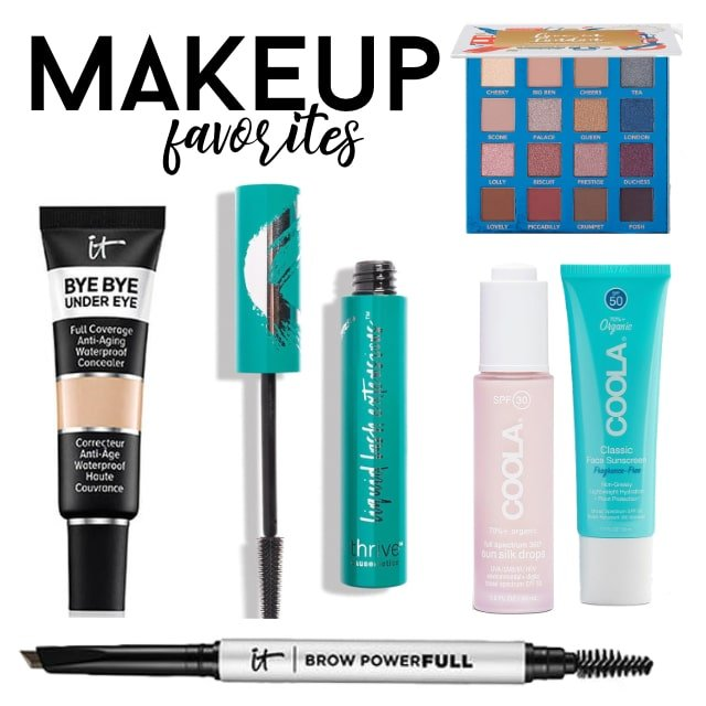 collage of makeup gifts
