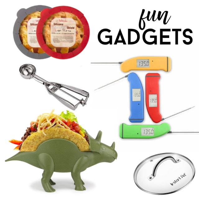 collage of kitchen gadgets
