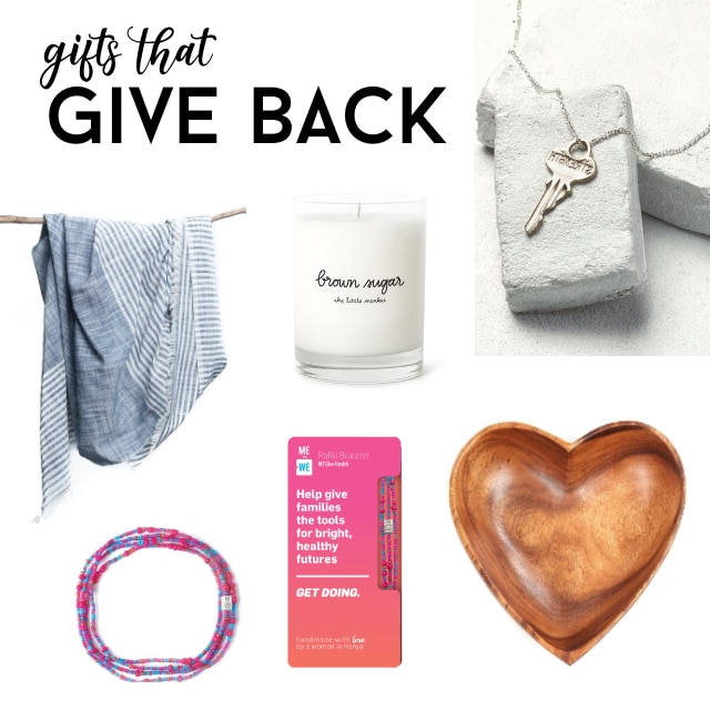 list of gifts that give back