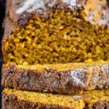 easiest ever pumpkin bread