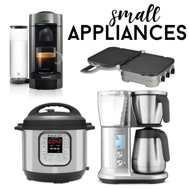 kitchen gifts small appliances collage