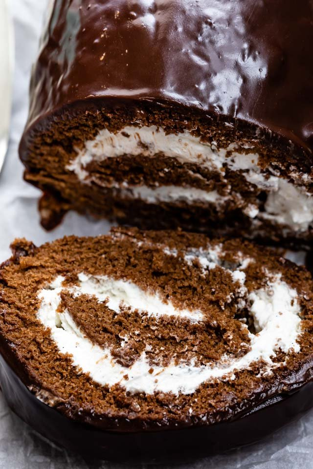 chocolate swiss cake roll