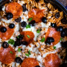 easy pizza pasta recipe