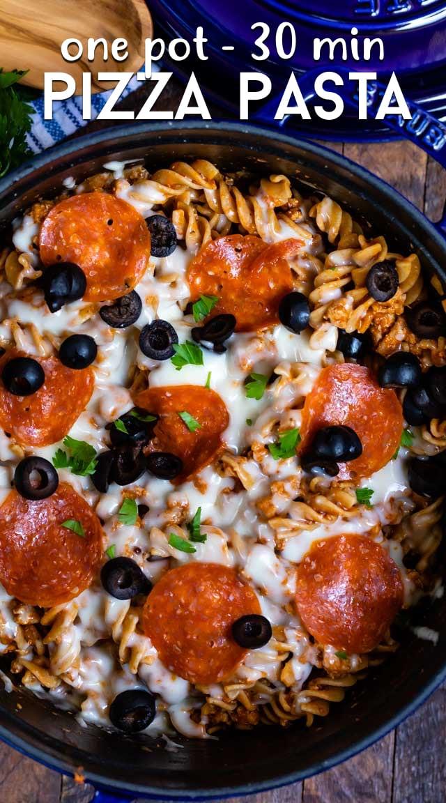easy pizza pasta recipe