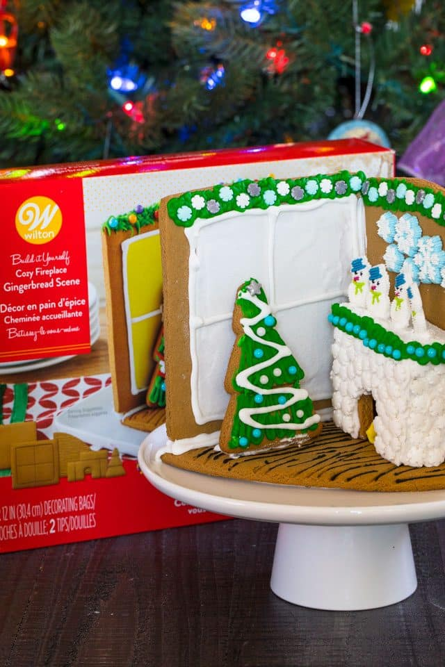 gingerbread house kit hacks