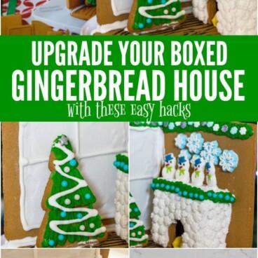 gingerbread house kit hacks