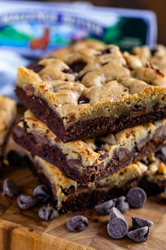 Brownie chocolate chip cookie