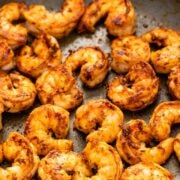 Cajun shrimp cooking