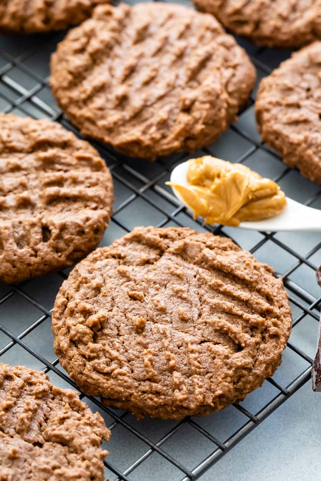 Best chocolate peanut butter cookies