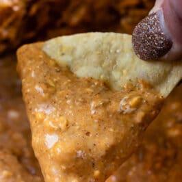 Easy crockpot chili dip
