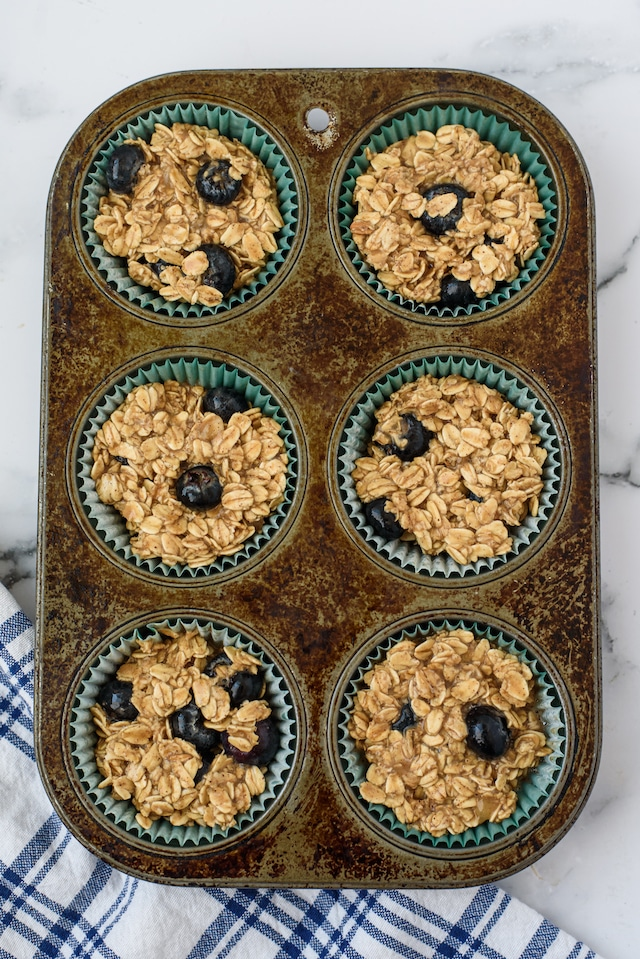 Easy oatmeal muffins