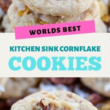 World's best kitchen sink cookies