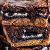 Slutty brownies from scratch