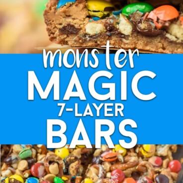 Monster magic bars
