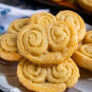 Easy palmier cookies