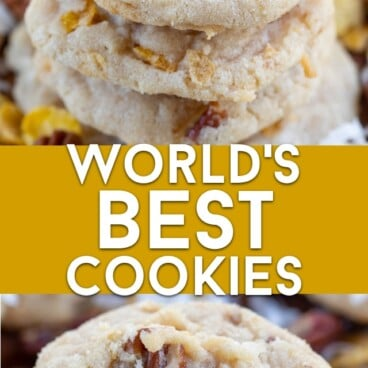 World's best cookies collage