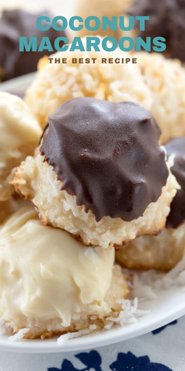 Bakery Style Coconut Macaroons Crazy For Crust