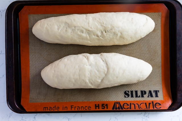 how to make french bread process photo