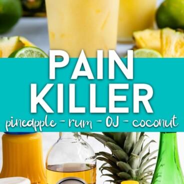 Pain killer scream canister