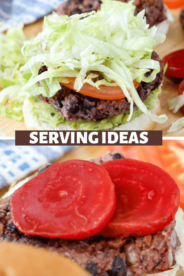 serving ideas for vegan burgers