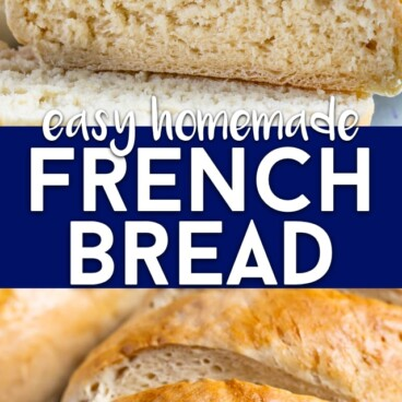 French bread collage