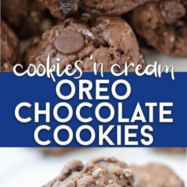 Cookies 'n cream cookies